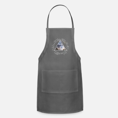 Spacemonster nerd CPU pyramid space big bang theory swag - Apron