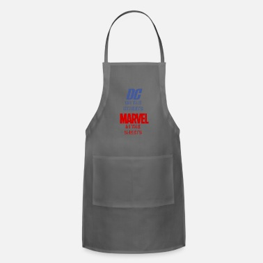 Comics DC on the Streets / Marvel in the Sheets - Adjustable Apron