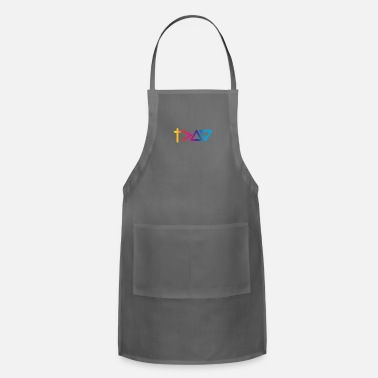 God Is Greater Than Highs And Lows God Is Greater Than The Highs And Lows Christian - Apron