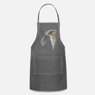 snowy owl Hedwig cute awesome photo art - Apron