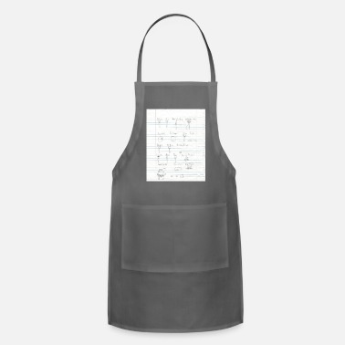 Cartoon Character Sheet - Adjustable Apron