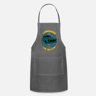 B Day Lowrider Low And Slow Geschenk - Adjustable Apron