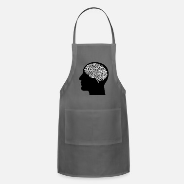 Brain brain - Adjustable Apron