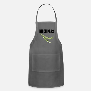 Sprite Bitch Peas pea vegetable vegetarian gift - Apron