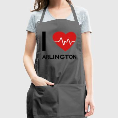 I Love Arlington - Adjustable Apron