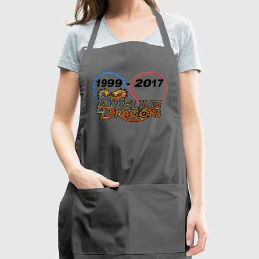 dueling dragons - Adjustable Apron