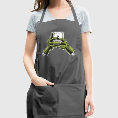 Zombie Phone - Adjustable Apron