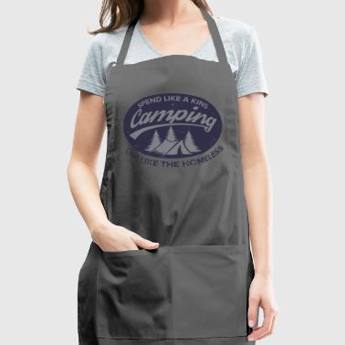 Irony of Camping - Adjustable Apron