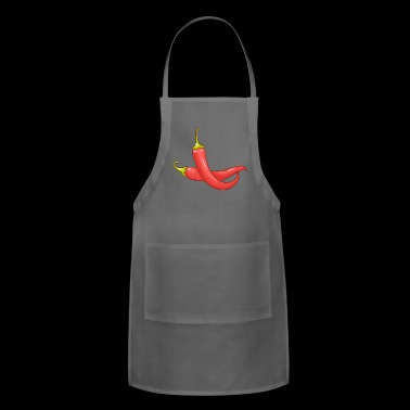 Chili Pepper - Adjustable Apron