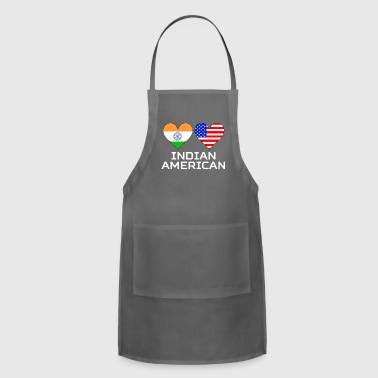 Indian American Hearts - Adjustable Apron
