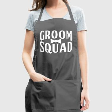 Groom Squad Wedding Party - Adjustable Apron