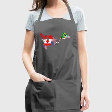 America - Adjustable Apron