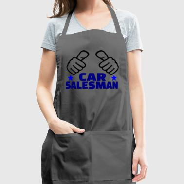 GIFT - CAR SALESMAN BLUE 2 - Adjustable Apron