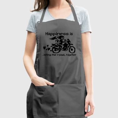 Bike couple Love - Adjustable Apron