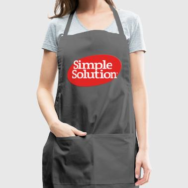 simple solution - Adjustable Apron