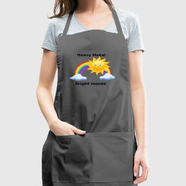 heavymetal bright inside - Adjustable Apron
