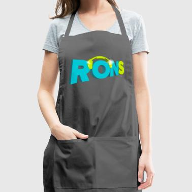 rons logo - Adjustable Apron