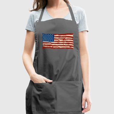 Tee shirt usa flag - Adjustable Apron