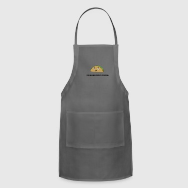 I'M AGGRESSIVELY STARING - Adjustable Apron