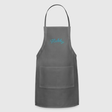 Hubby | Husband, Marriage, Romance, Valentines - Adjustable Apron