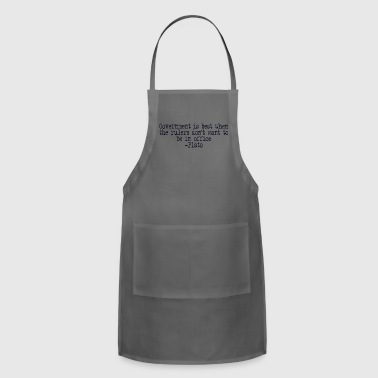 Plato on Government - Adjustable Apron