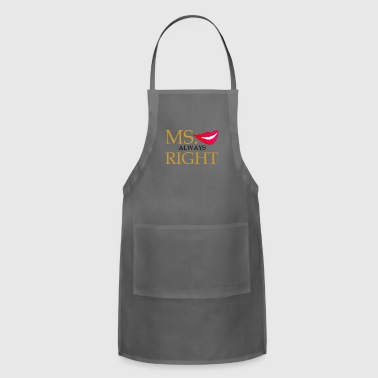 Ms Always Right - Adjustable Apron