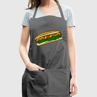 hot dog - Adjustable Apron