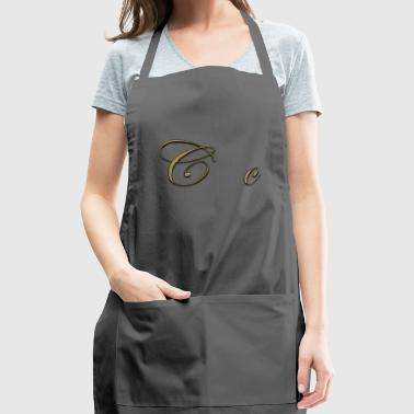 alphabet c - Adjustable Apron