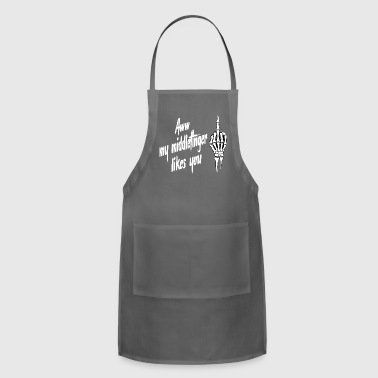 middlefinger - Adjustable Apron