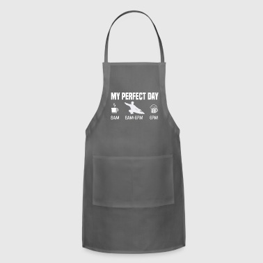 My perfect day - Martial arts judo karate gift - Adjustable Apron