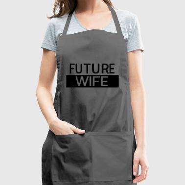 Husband. Wife. Family. House - Adjustable Apron