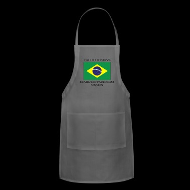 Brazil Sao Paulo East LDS Mission Called to Serv - Adjustable Apron