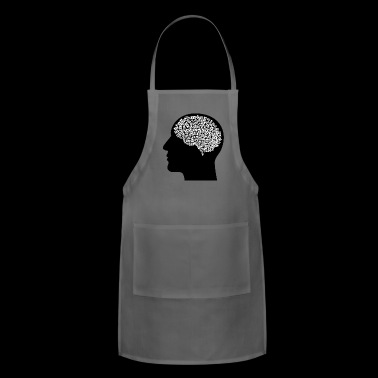 brain - Adjustable Apron