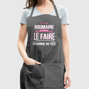 Romanian no one can gift - Adjustable Apron