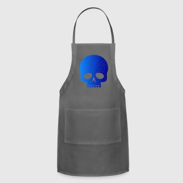 Skull binary code / Skull binary - Adjustable Apron
