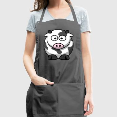Cartoon Cow - Adjustable Apron