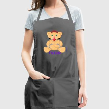 I´m Cute 3 - Sado Teddy - Adjustable Apron