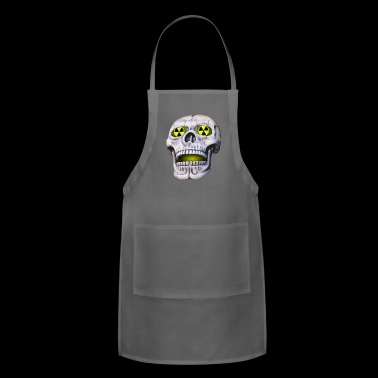 skull nuclear - Adjustable Apron