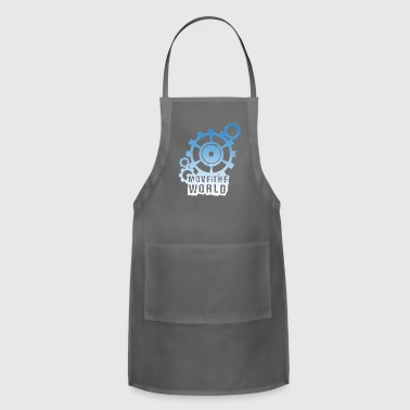 move the world - Adjustable Apron