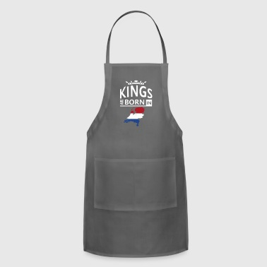 Holland Born King Pride Dutch Proud Heritage Gift - Adjustable Apron