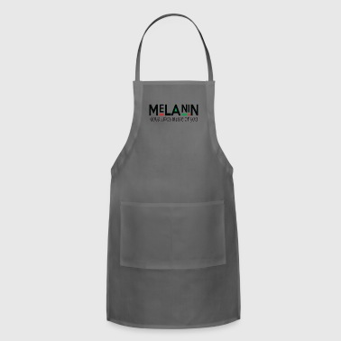melanin GOLD LIVES IINSIDE - Adjustable Apron