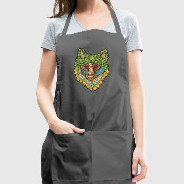 Forest Wolf - Adjustable Apron