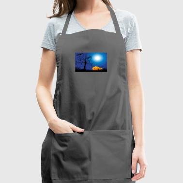 Spooky Halloween Art - Adjustable Apron