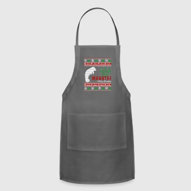 Manatee Shirt - Manatee Christmas Shirt - Adjustable Apron