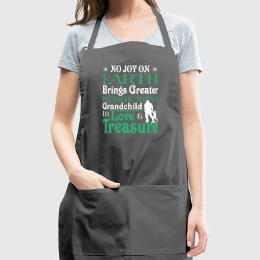 Grandchild To Love And Treasure T Shirt - Adjustable Apron