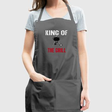King of the Grill BBQ Smoker - Adjustable Apron