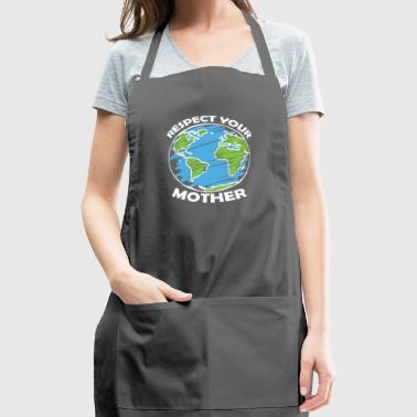 happy earth day - Adjustable Apron