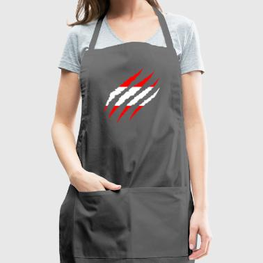 Peru - Soccer Football Fan World Flag Gift 2018 - Adjustable Apron