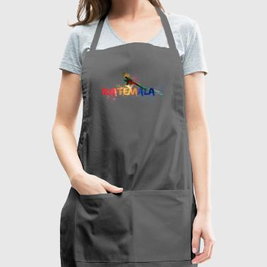 Guatemala quetzal - Adjustable Apron