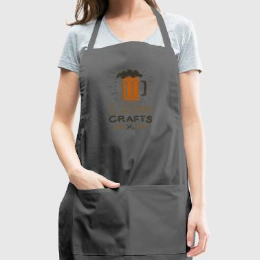 Craft Beer Love Brewery Gift - Adjustable Apron